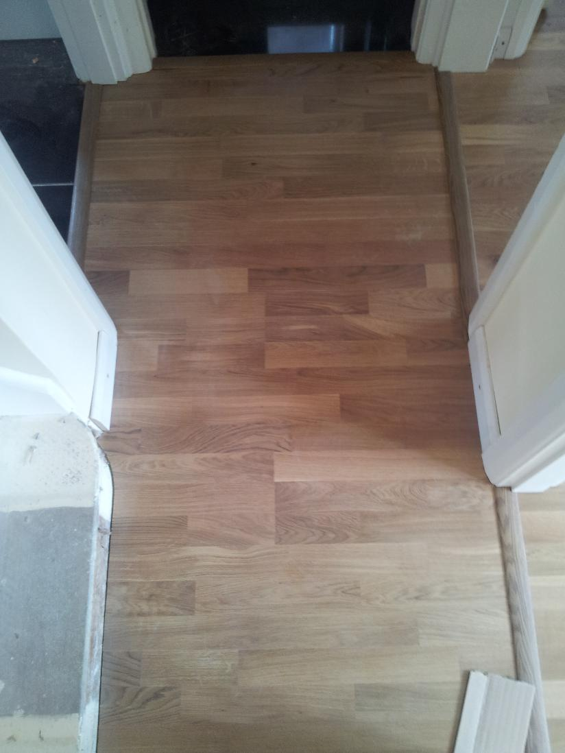 Laminate flooring help fitting laminate flooring for Cheap lino flooring and fitting